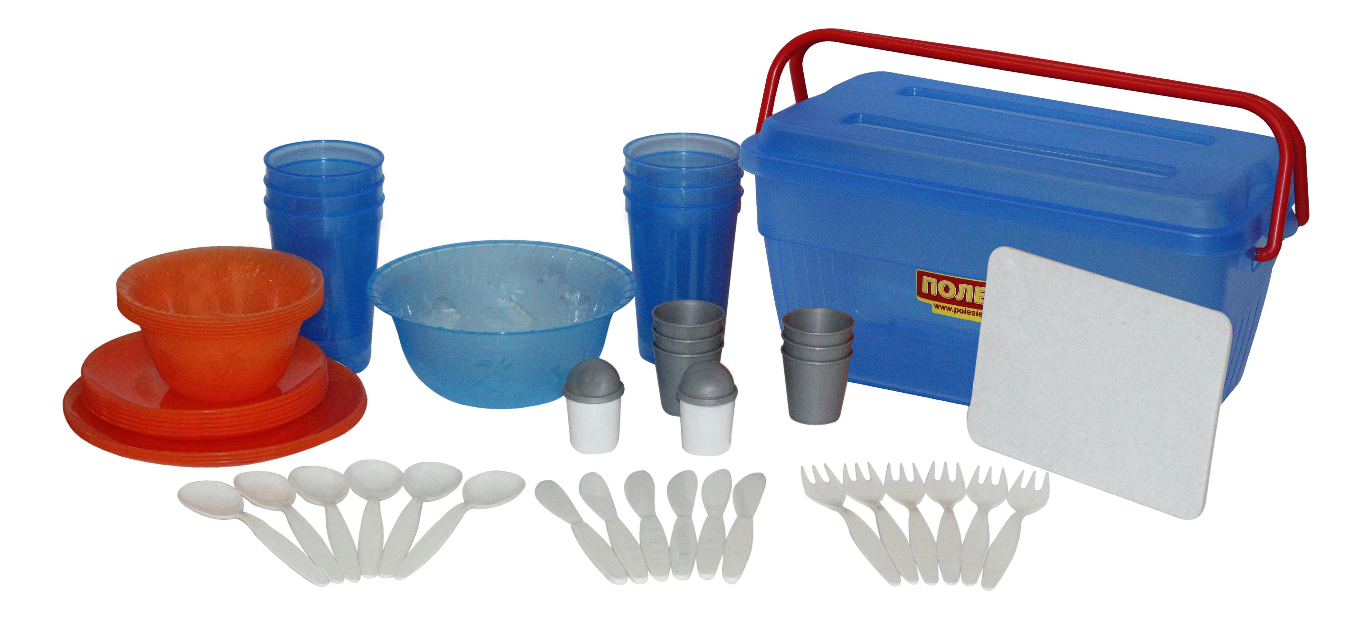 Набор посуды игрушечный Полесье для пикника №4