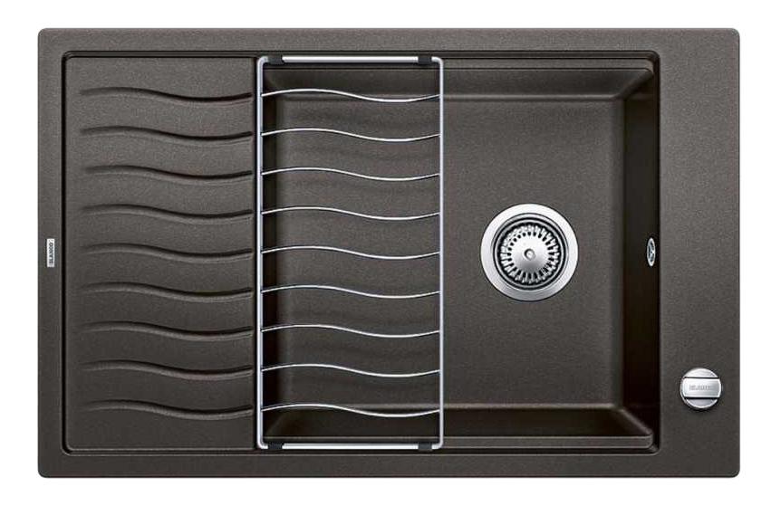 Мойка для кухни гранитная Blanco ELON XL 6 S 518744 черный