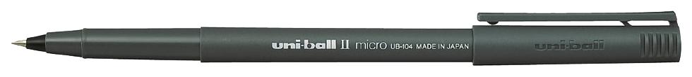 Ручка-роллер UNI, 0,3 мм синяя (упаковка 12 шт)