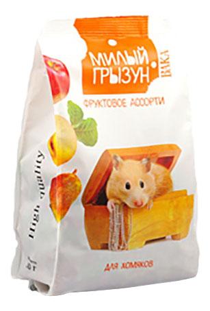 Корм для хомяков Вака Милый грызун, фруктовое ассорти 0.2 кг 1 шт