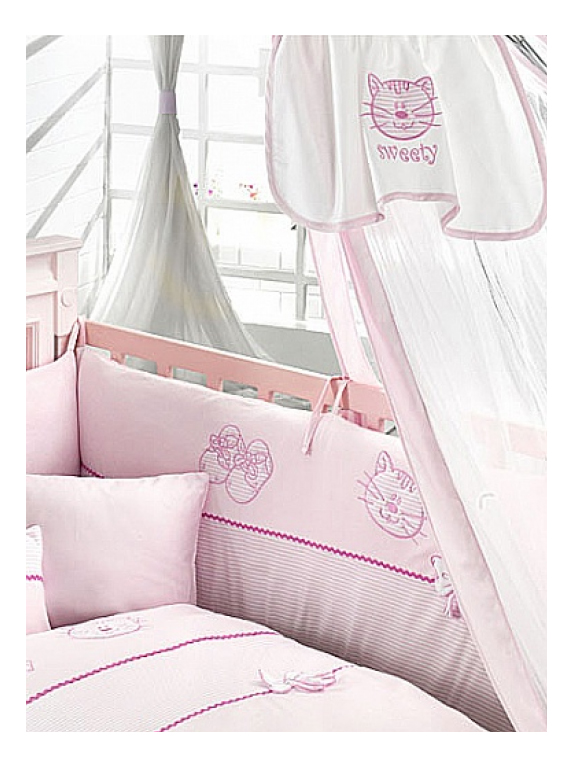 Балдахин для детской кроватки Bebe Luvicci My Kitty