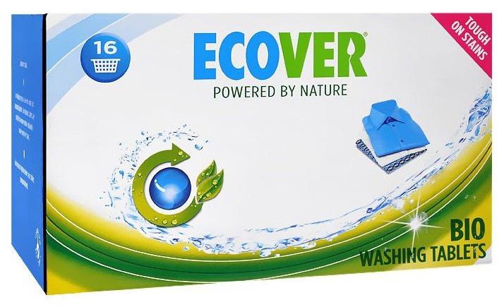 Таблетки для стирки Ecover laundry tablets 32 штуки