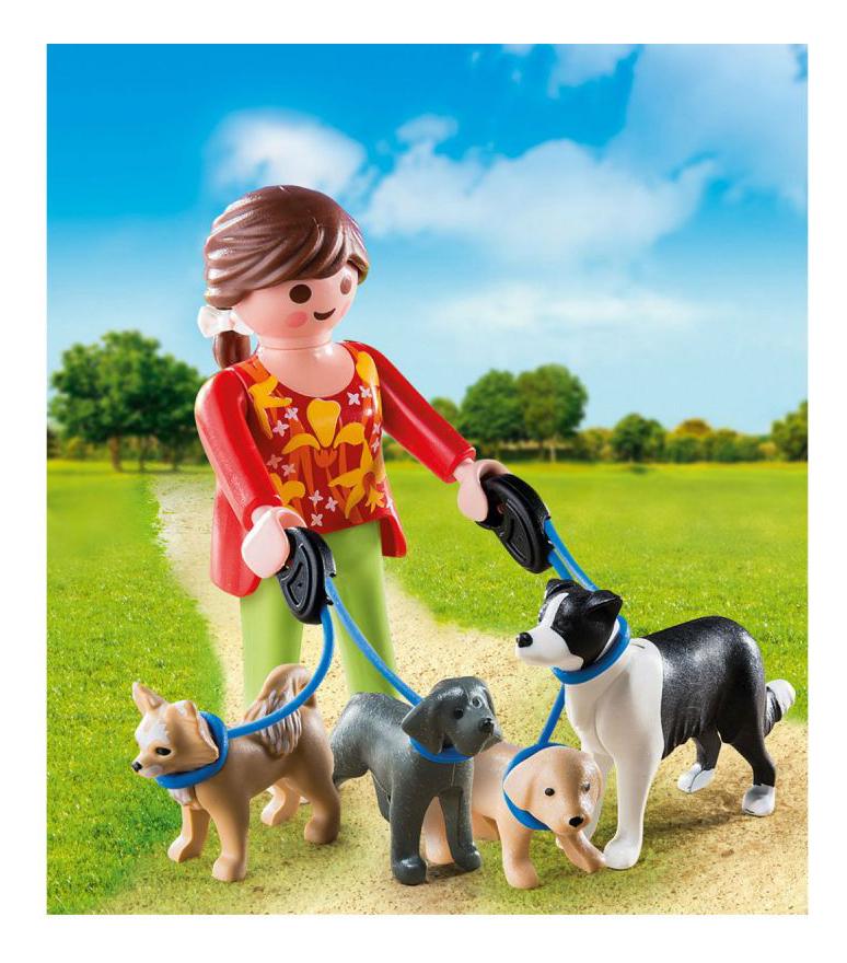 Купить Экстра-набор: Выгул собак, Игровой набор PLAYMOBIL Экстра-набор: Выгул собак, Игровые наборы