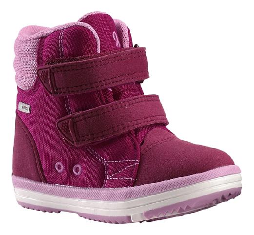 Купить Ботинки Reima Reimatec Patter розовые р.20, Детские ботинки