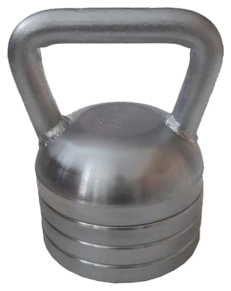 Гиря гальваническая NoBrand 16 кг 2668