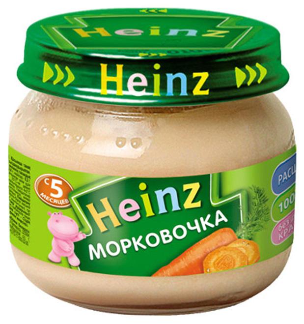 Пюре овощное Heinz Морковочка с 5 мес.