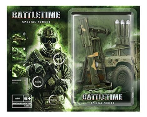 Огнестрельное игрушечное оружие Battletime Миномет,  - купить со скидкой