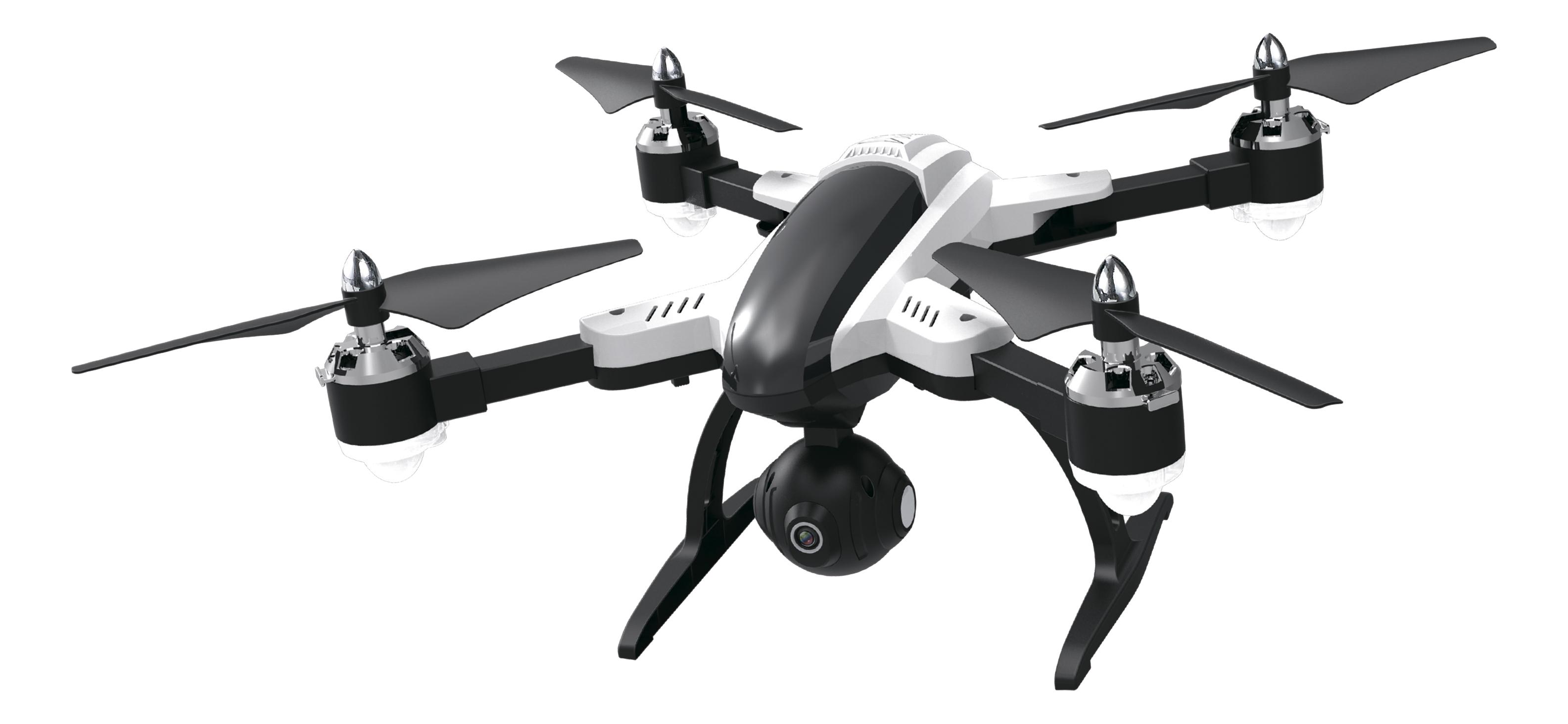 Радиоуправляемый квадрокоптер 1TOY Gyro-Wi-Fire, 1 TOY, Квадрокоптеры для детей  - купить со скидкой