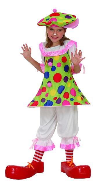 Купить E93158, Карнавальный костюм Snowmen Клоун, цв. разноцветный р.122,
