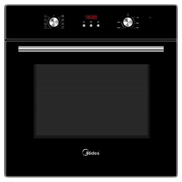 Встраиваемый электрический духовой шкаф Midea MO47000GB Black фото