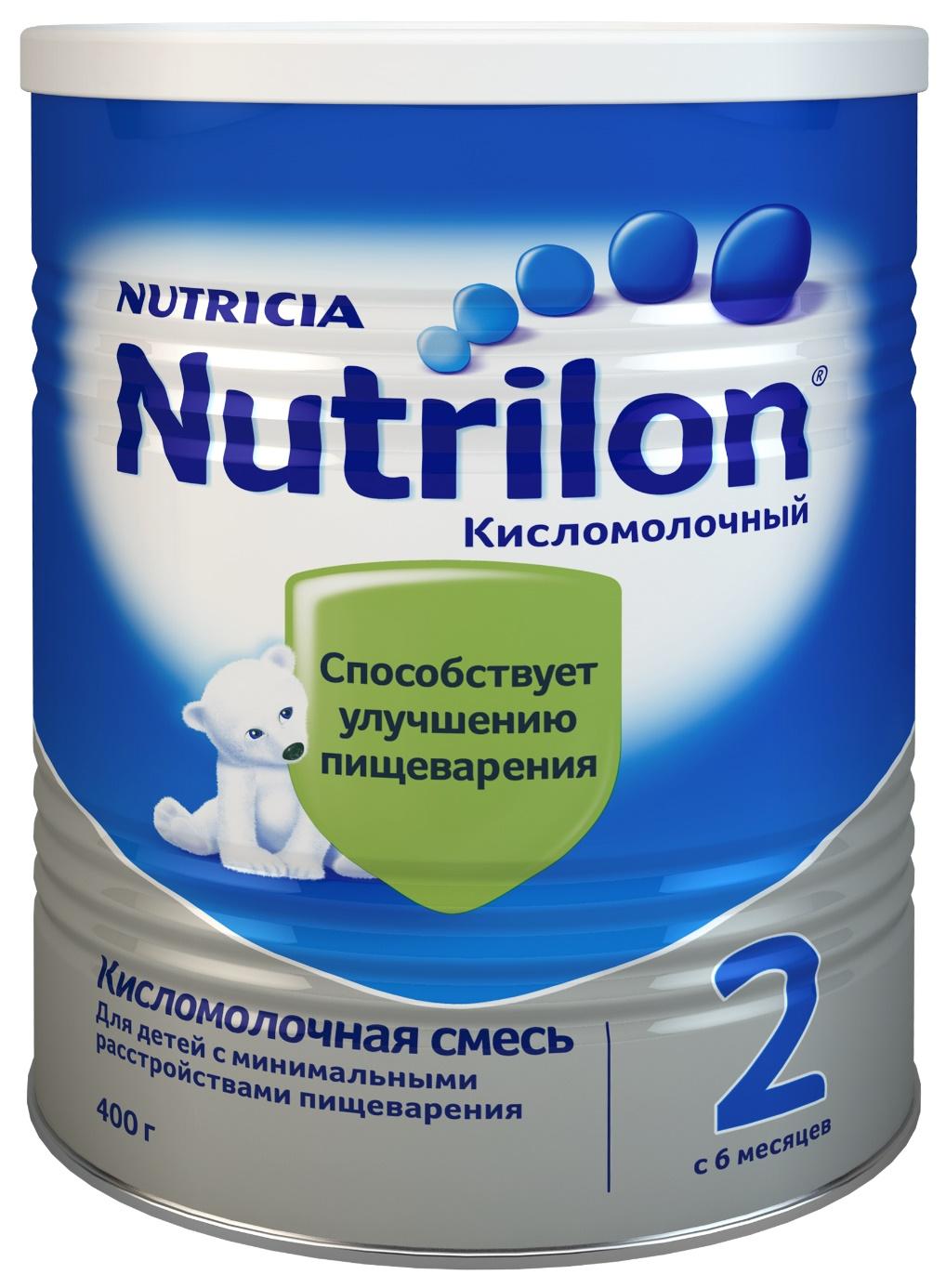 Молочная смесь 2 (от 6 до 12 мес.) Nutrilon Кисломолочный 400 г