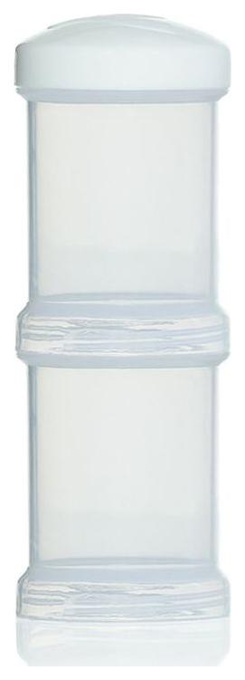 Контейнер Twistshake для сухой смеси 2 штуки 100 мл белый
