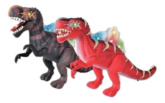 Интерактивная игрушка динозавр спинозавр Gratwest Б73102 фото