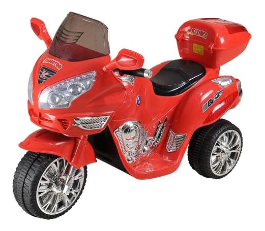 Электромобиль Moto красный RIVERTOYS