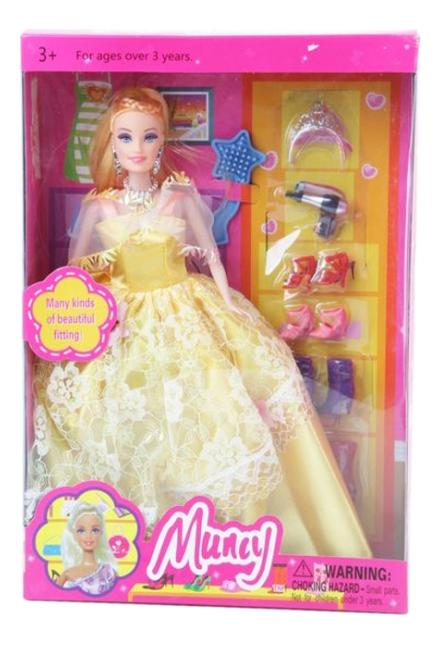 Кукла с аксессуарами для волос Muncy Shenzhen Toys Д43434