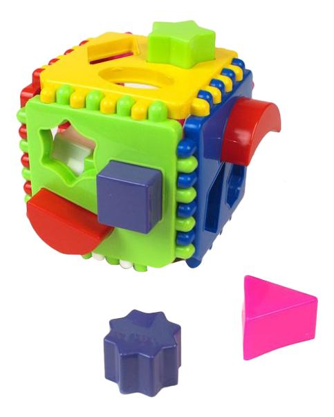 Сортер подарочный Логический куб STELLAR