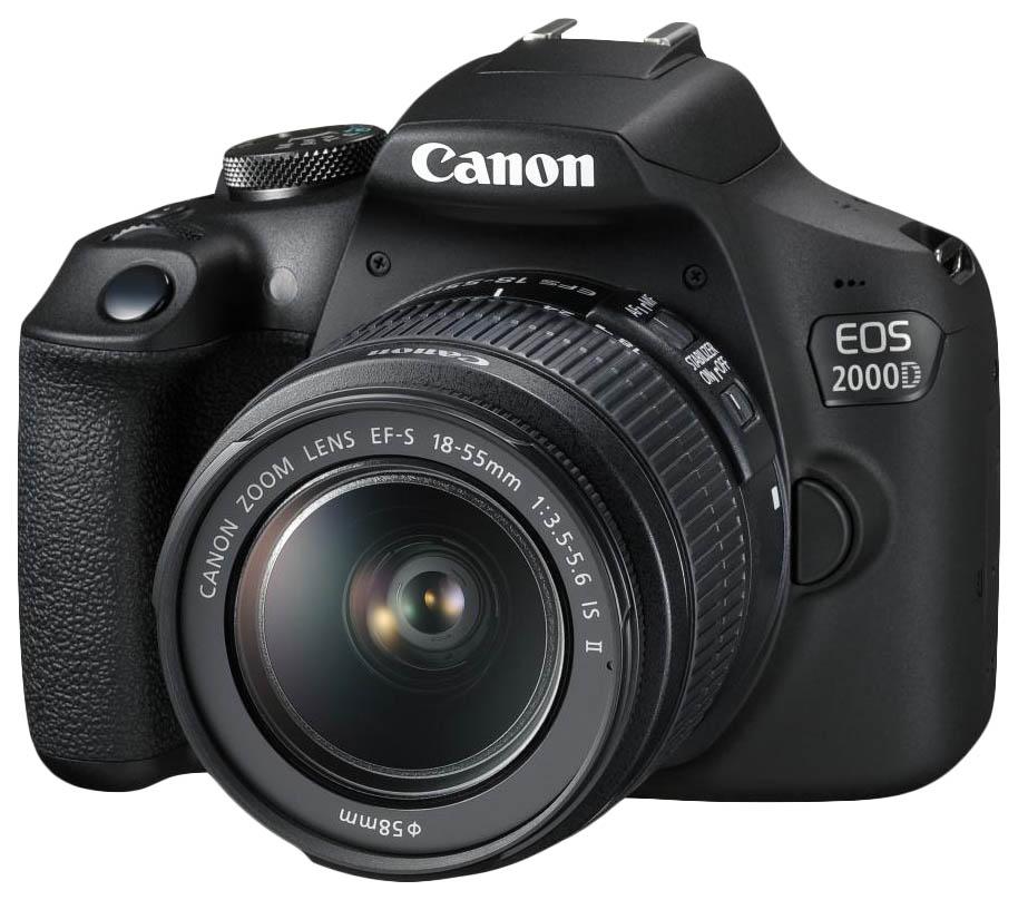 Зеркальный фотоаппарат Canon EOS 2000D 18