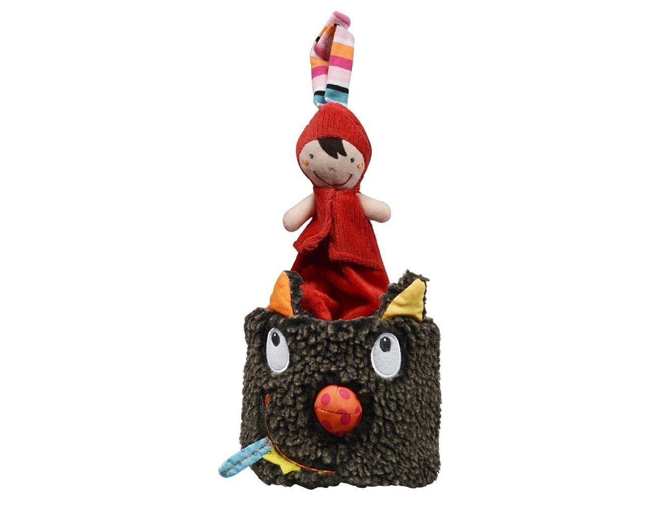 Купить Музыкальная игрушка Ebulobo Волчонок в шляпе E10071, Развивающие игрушки