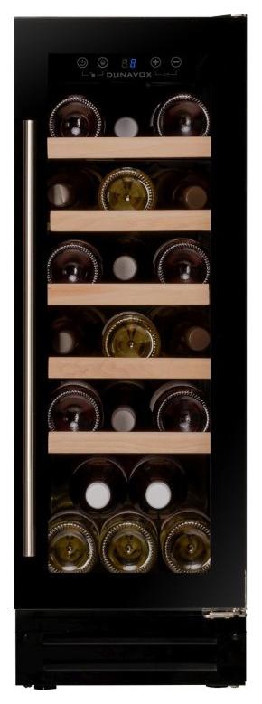 Встраиваемый винный шкаф Dunavox DX 19.58BK/DP