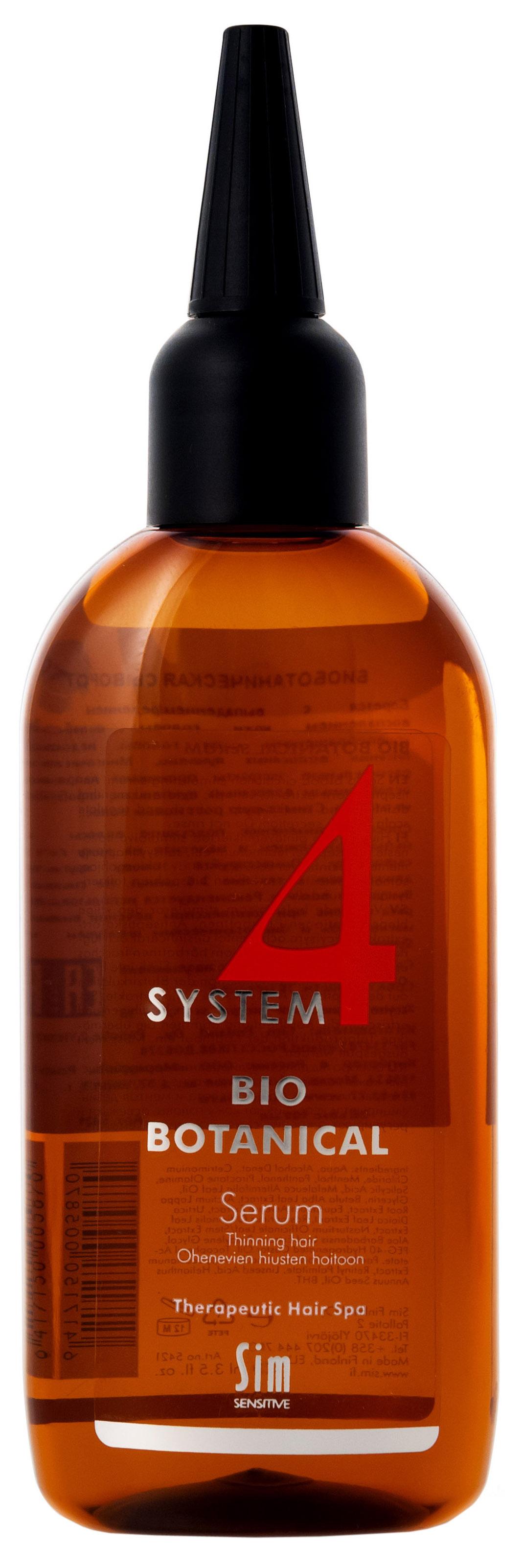 Шампунь Sim Sensitive System 4 Bio Botanical Shampoo для роста волос 100 мл