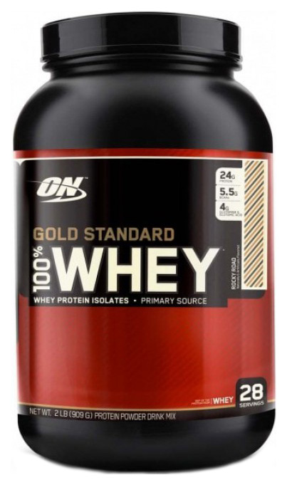 Протеин Optimum Nutrition 100% Whey Gold Standard 910 г Rocky Road фото
