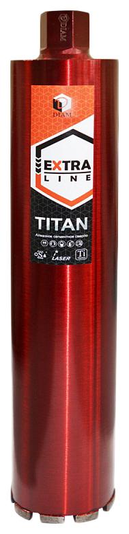 Алмазное сегментное сверло DIAM Extra Line ТITAN 102x450x9x1 1/4UNC 313001 фото