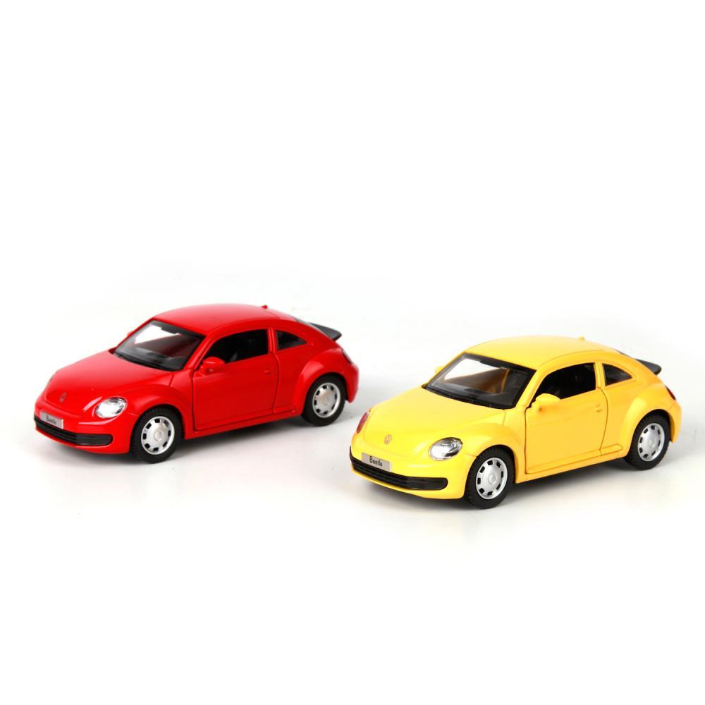 Машинка Технопарк металлическая инерционная volkswagen the beetle,