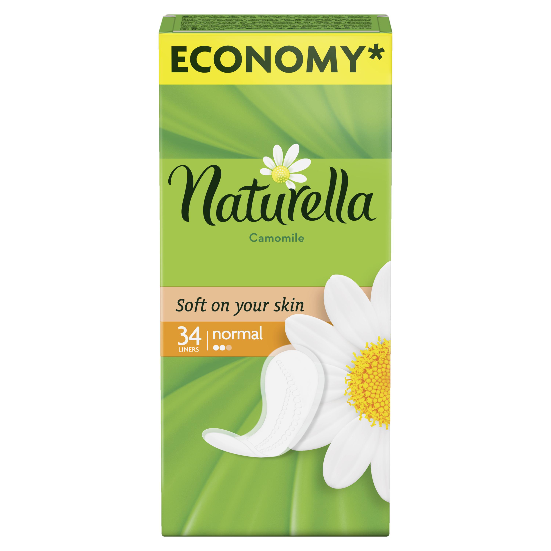 Женские гигиенические прокладки NATURELLA на каждый день Camomile Normal Duo 34шт