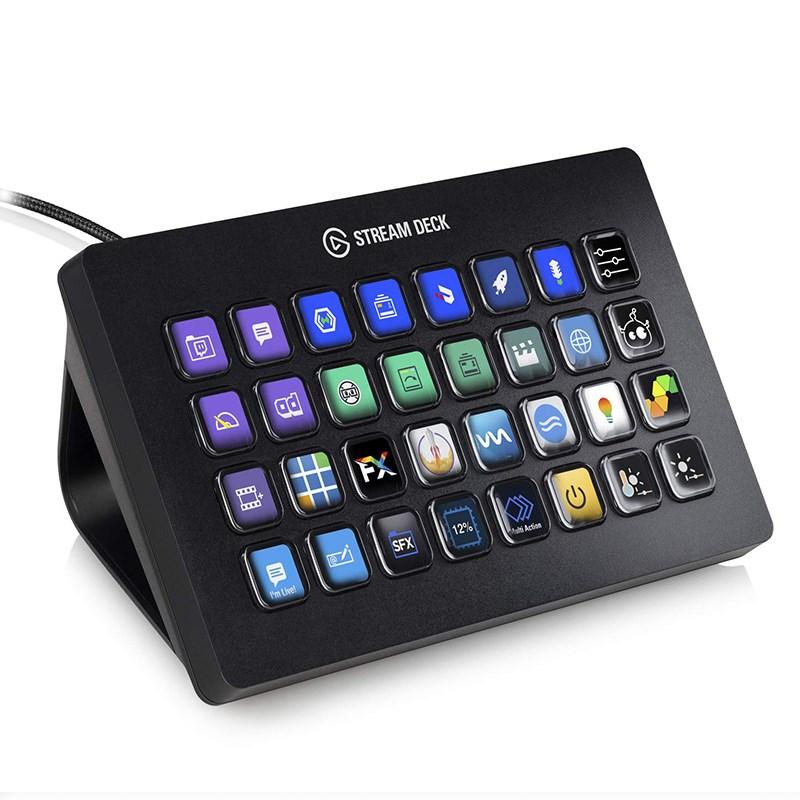 Стриминг контроллер Elgato Stream Deck XL (10GAT9901)