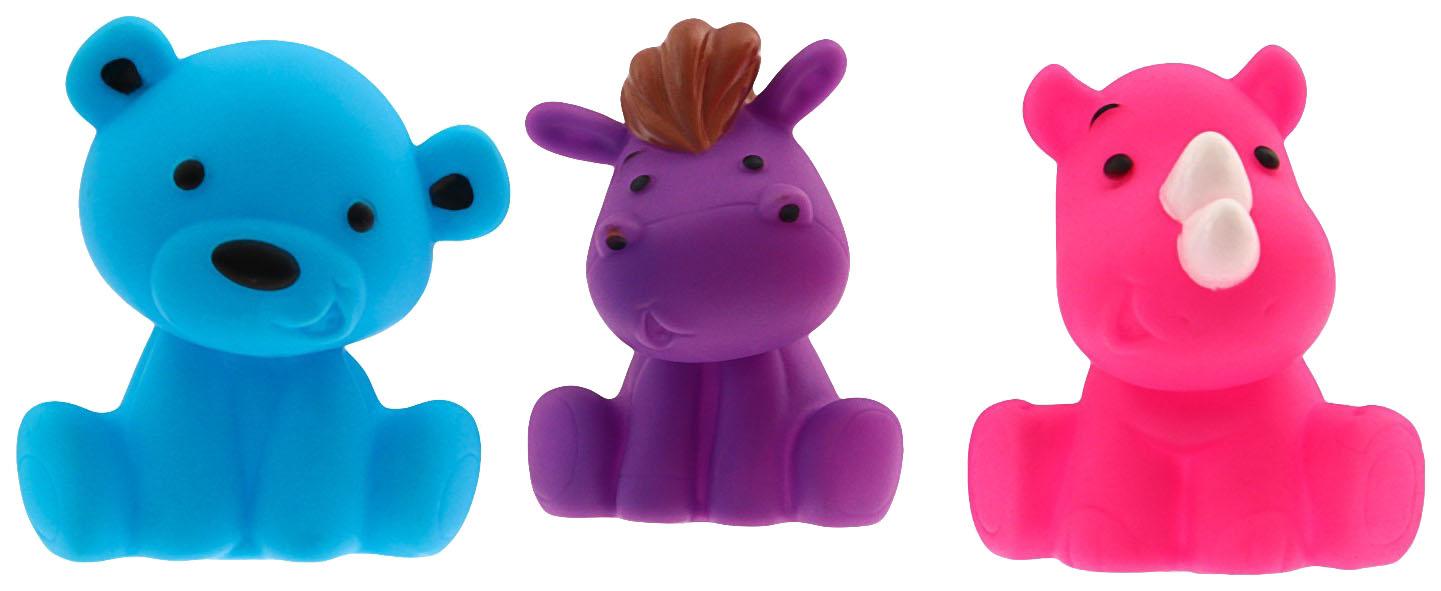 Купить Игрушки для ванны «Друзья 1», набор 3 шт. Крошка Я, Игрушки для купания