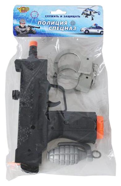 Купить Набор полицейского Наша игрушка автомат, наручники, граната, Детские наборы полицейского