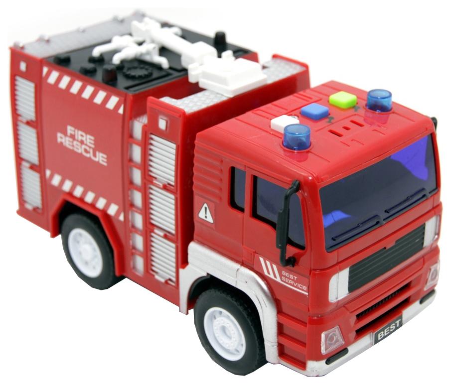 Машина пластиковая BALBI PT-005-C Пожарная машина инерционная