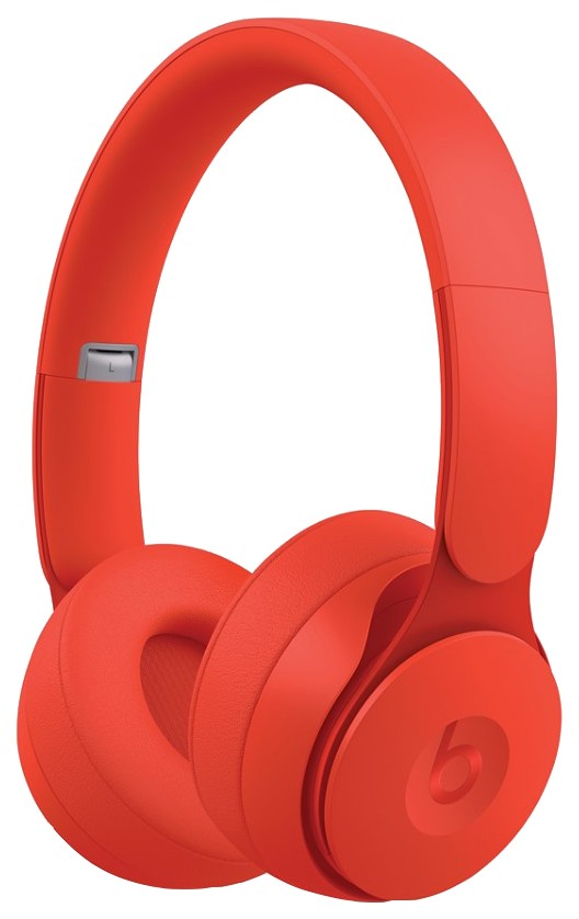 BEATS SOLO PRO WIRELESS NOISE CANCELLING MMC RED