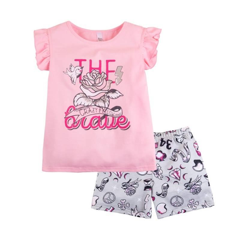 Купить Пижама Тату Bossa Nova, цв. розовый, 116 р-р, Детские пижамы