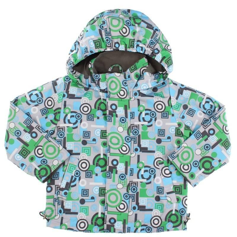 Купить Дд-0632, Куртка Техно URSINDO, цв. салатовый, 116 р-р, Куртки для мальчиков
