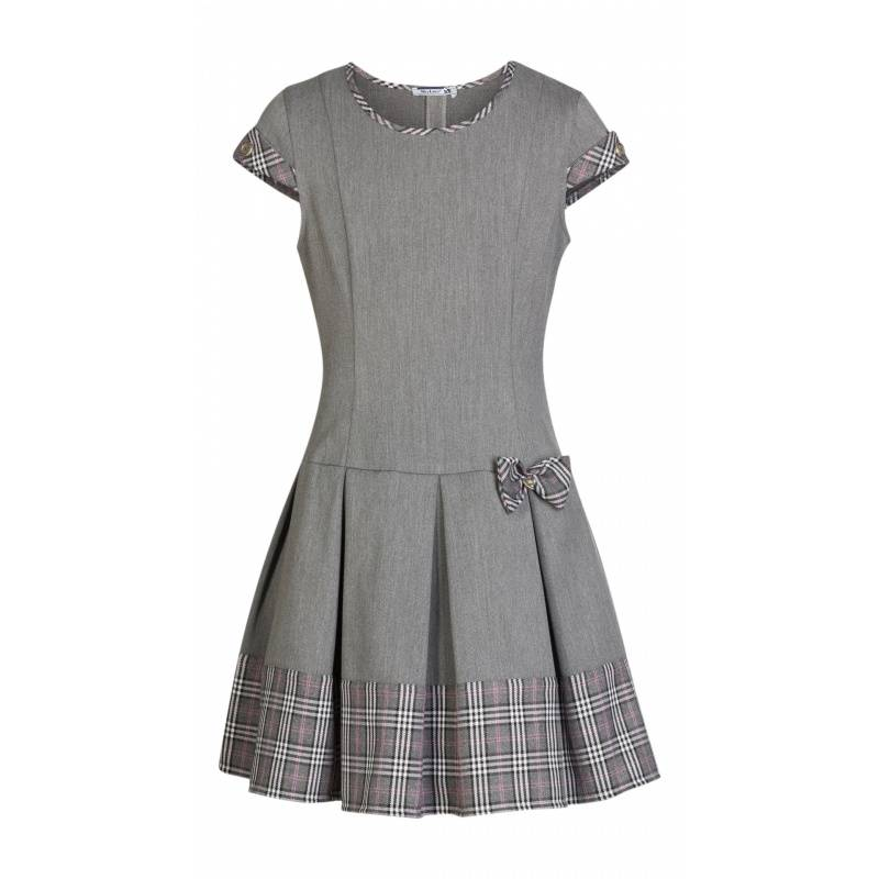 Купить ШФ-1098, Сарафан SkyLake, цв. серый, 30 р-р, Сарафаны для девочек