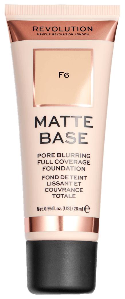 Тональный крем Makeup Revolution Matte Base Foundation