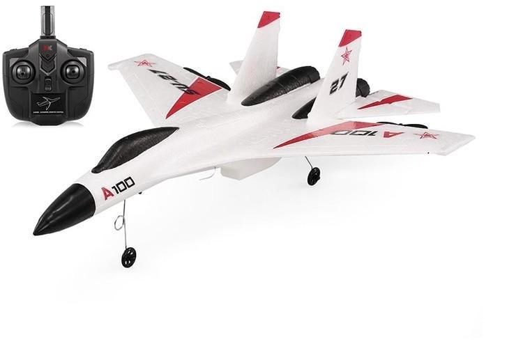 Купить Радиоуправляемый самолет XK Innovation RTF 2.4G WL Toys A100-SU27, WLToys, Радиоуправляемые самолеты