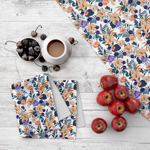 Набор кухонного текстиля MARENGO TEXTILE «Цветочное наслаждение»