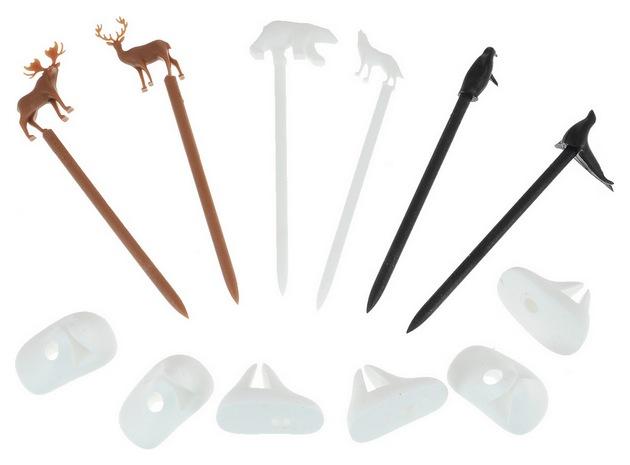 Набор маркеров для бокалов Qualy Cool Animal 6 шт