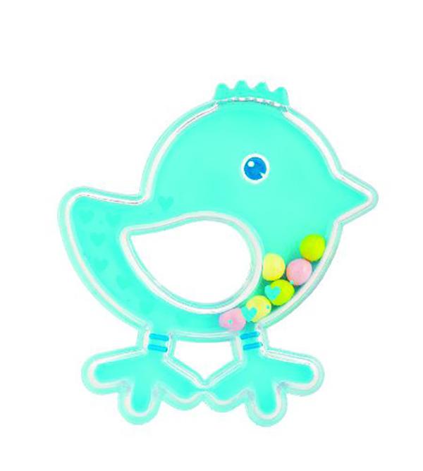 Купить Погремушка Canpol Птичка арт. 2/189, 0м+, цвет: голубой, Canpol Babies,