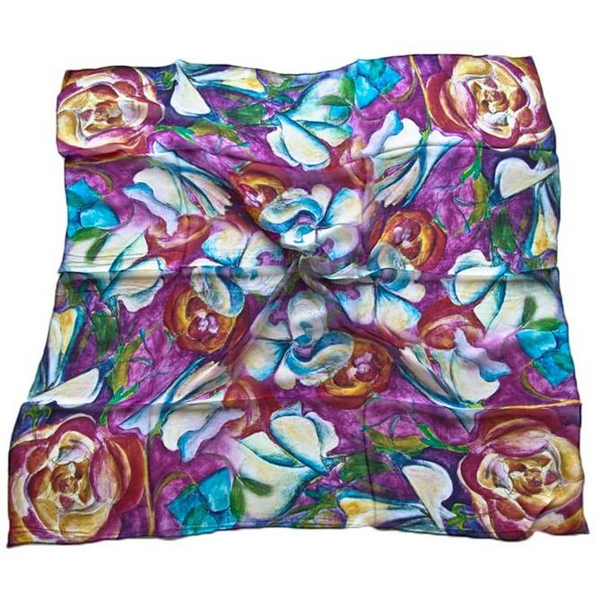Платок женский Tranini 0726 PLATOK 3 разноцветный фото