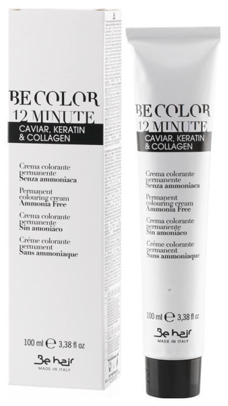 Краска для волос Be Hair Be Color 12 Minute Light Chestnut Red тон 5.6 100 мл