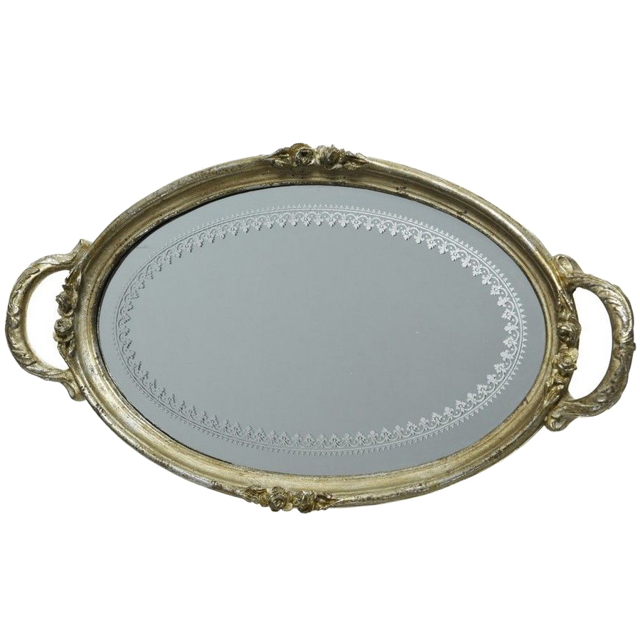 Поднос зеркальное великолепие, 35.5x19.7x3 см, kaemingk, 530380