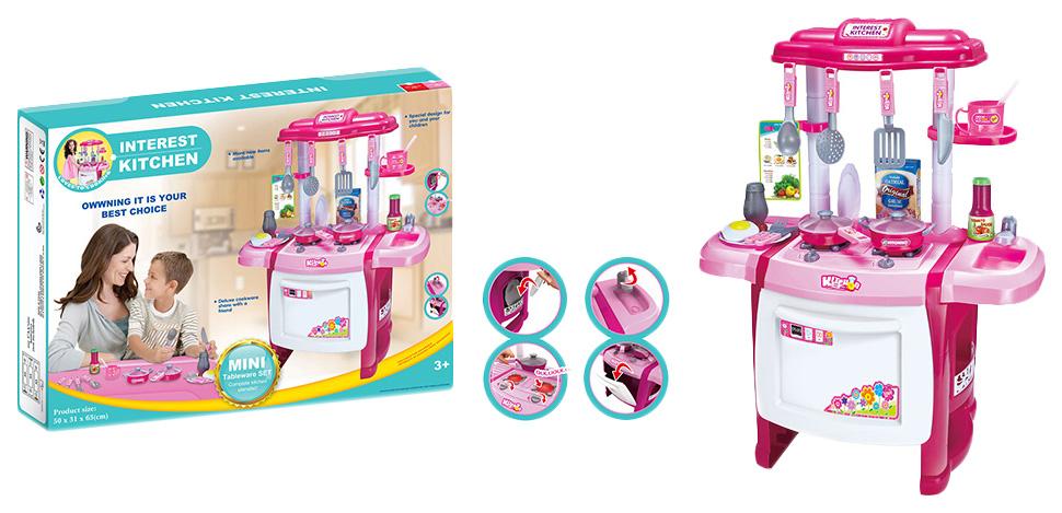 Купить Кухня детская Shenzhen Toys KITCHEN WD-A18 50 см, Детская кухня