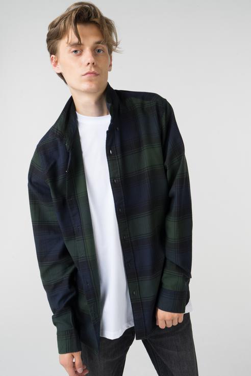 Рубашка мужская Levi's 3288800330 зеленая XL