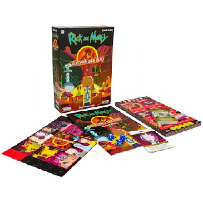 Купить Настольная игра HOBBY WORLD Рик и Морти: Анатомический парк, Семейные настольные игры