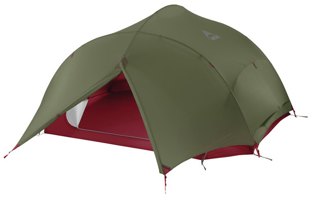 Палатка MSR Papa Hubba NX четырехместная зеленая