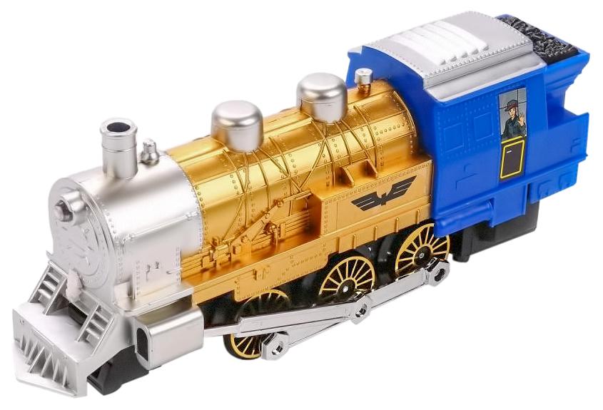 Купить Железная дорога Play Smart 0611 Мой 1-й поезд с дымом свет звук 282 см, PLAYSMART, Детские железные дороги