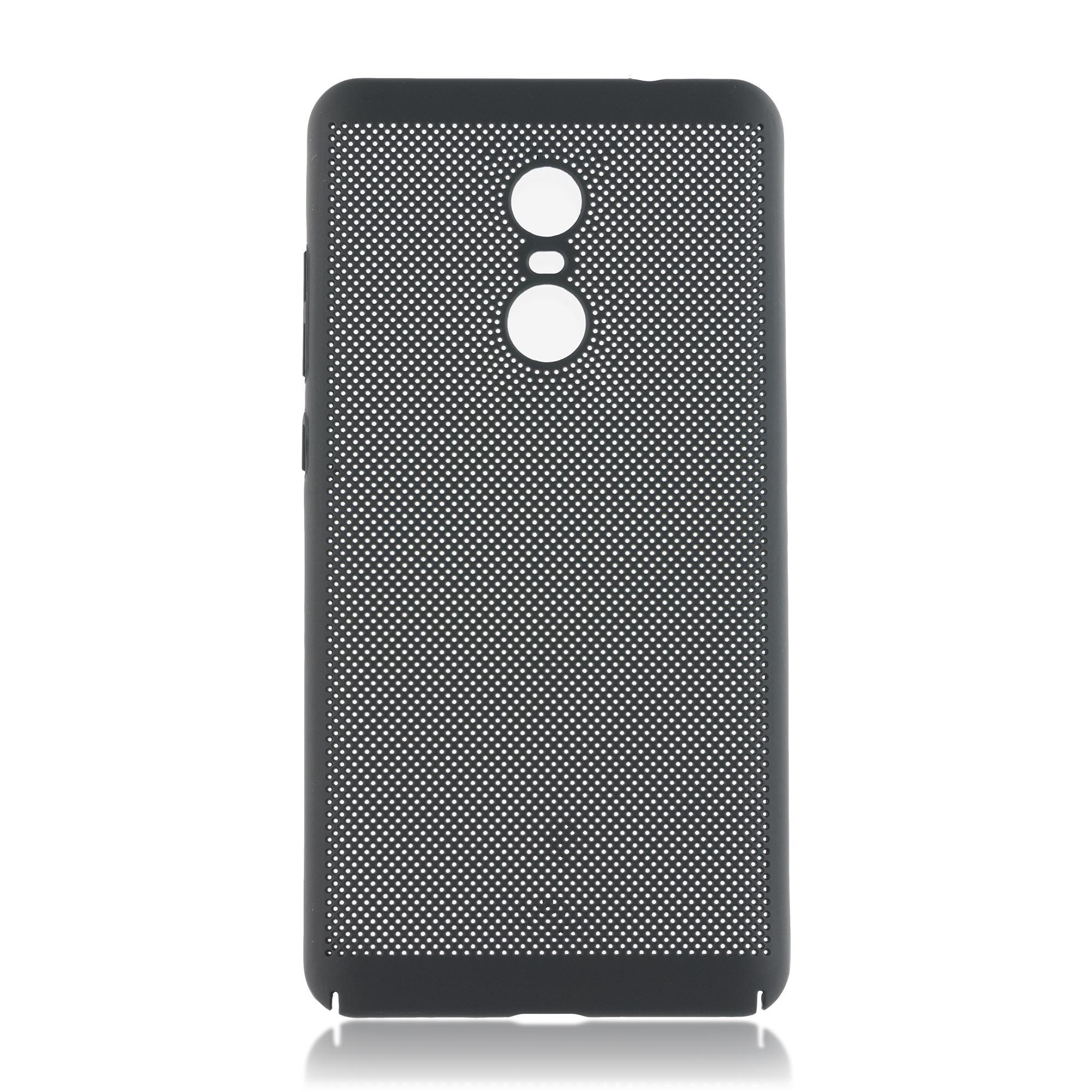 Чехол Brosco Soft-touch для Xiaomi Redmi Note 4X, черная